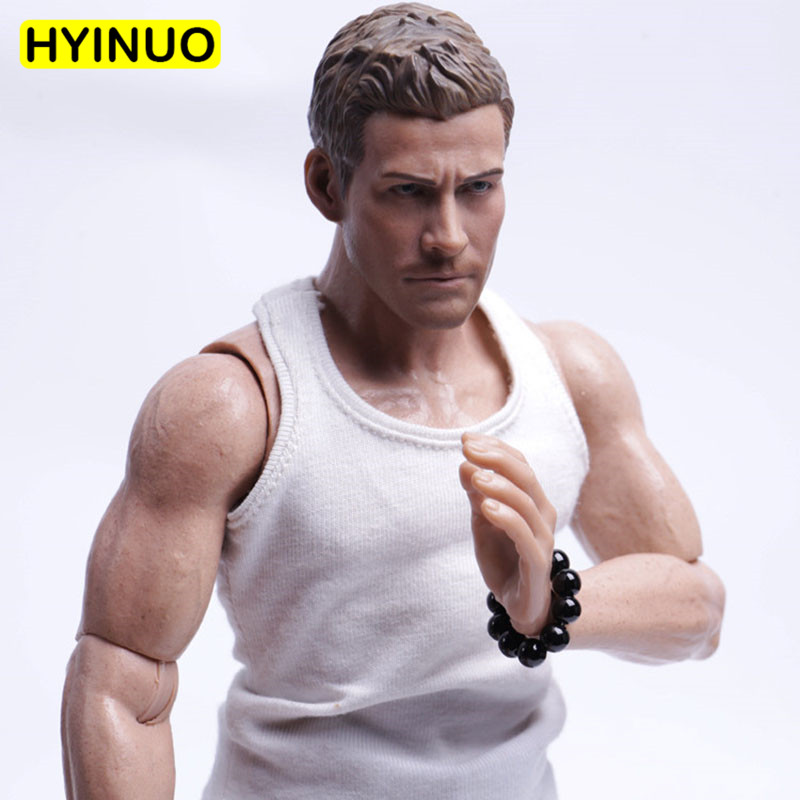 1/6 Scale Bracelet Man Fashion Beaded Bracelet Male Gangster Beads Bracelet Playing Toy for 12 Action Figure Body Accessory image