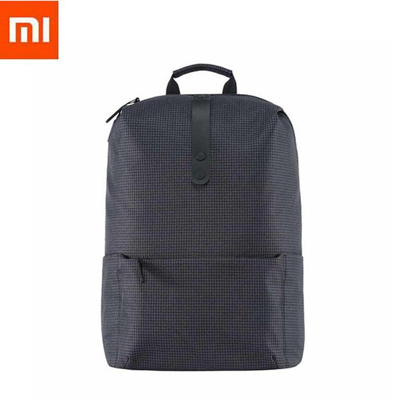 Gut 100% Original Xiaomi Mode Rucksack Kurze Schule Tasche Wasserdichten Outdoor-anzug Für 15,6 Zoll Von Computer/xiaomi Platte Videospiele