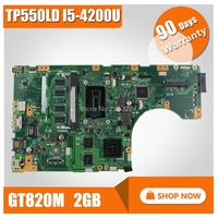 For Asus TP550LD I5-4200U Laptop motherboard TP550LD REV2.0 Integrated DDR3L onboard 4GB of memory 100% tested motherboard
