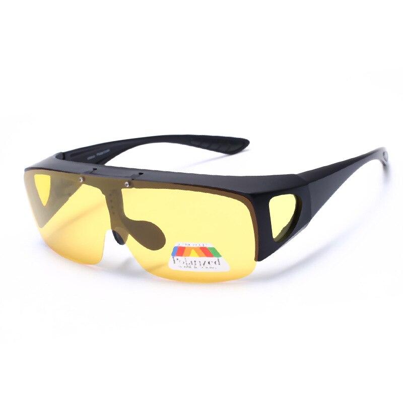 5a0046ff658 Sunglasses over glasses for men women Polarized lens