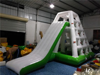 Sell inflatable water park toys, water climbing shelves slide, water amusement equipment