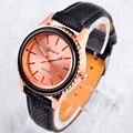 2016 Fashion Women Casual Watches relogio feminino Sun Flower Dial shape Fashion Luxury Leather Straps Ladies wrist Watches