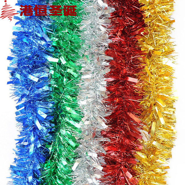 200x9cm Christmas Tree Decoration Silk Bulb Christmas Items Colors