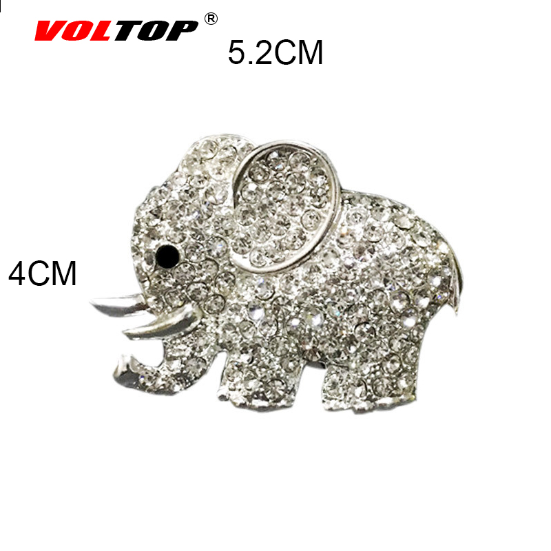 Diamond Elephant Car Perfume Clip Car Ornaments Dashboard Decoration Car Accessories Interior Air Outlet Hanging Pendant in Ornaments from Automobiles Motorcycles