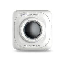 Paperang P1 принтер Портативный Bluetooth 4.0 принтер фотопринтер телефон Беспроводной подключения принтера 1000 мАч литий-ионный тесто