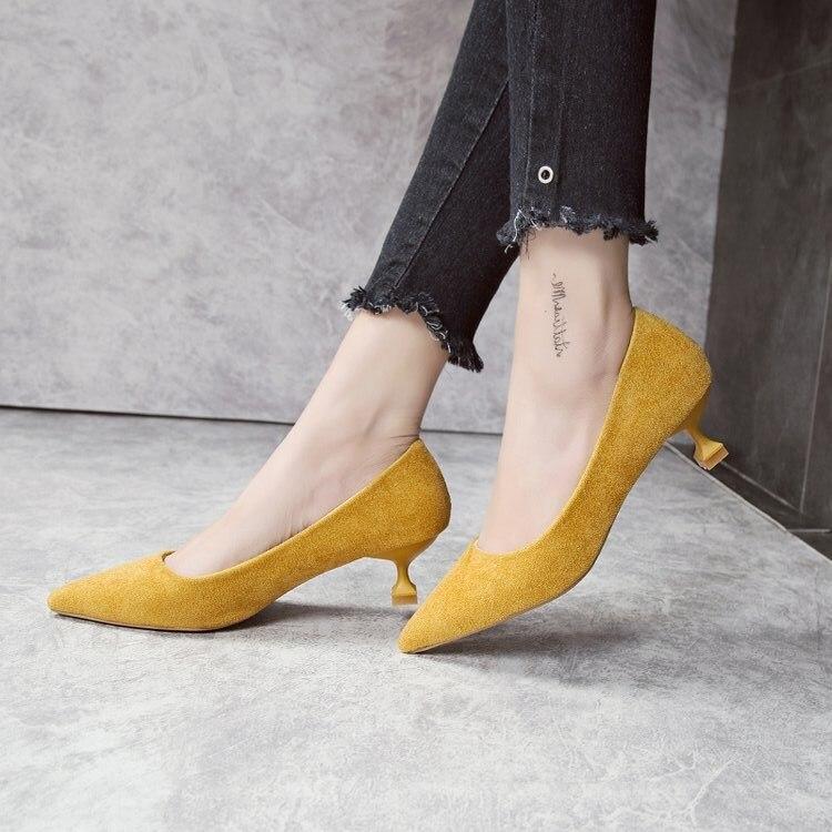 7cm Travail 7cm Automne Glissement Cm Talon 7cm Bout 2018 Chaussures Cm Bas 7cm 3 Cm Femmes 3 Nouveau Pompes Sur Classique Stiletto Chaton Talons Eoeodoit Bureau Pointu wgqSZBpp