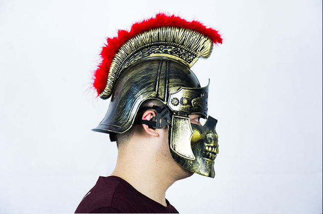 Halloween Hat Ancient Rome Sparta Arena Tour Cosplay Deadpool Samurai Medieval Helmet Plastic Toy & Online Shop Halloween Hat Ancient Rome Sparta Arena Tour Cosplay ...