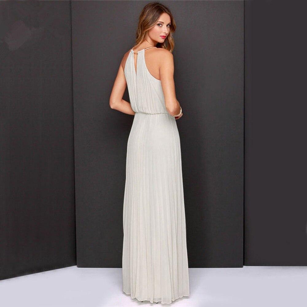 Venta caliente estilo europeo vestido de verano gasa sin mangas - Ropa de mujer - foto 2