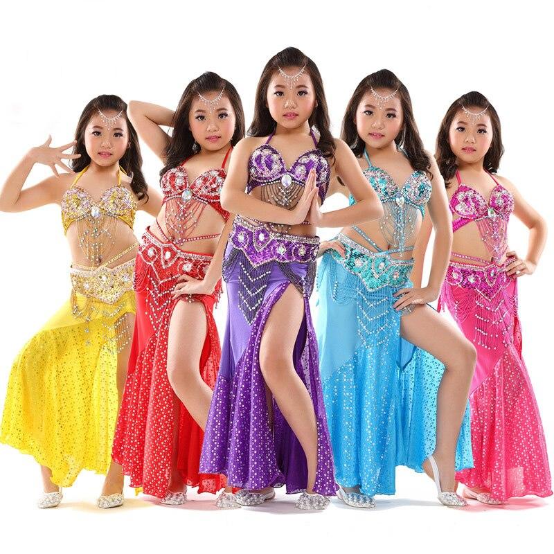 Forró Népszerű Olcsó Belly Dance jelmezek lányoknak Belly - Újdonság