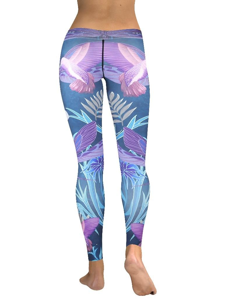 New Highwaistband purple dragonfly legging (4)