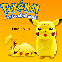 10000mah Pikachu Pokemon power bank Charger Suitable for all phones Custom Game Pikachu Pokemon power bank With Retail Box p10
