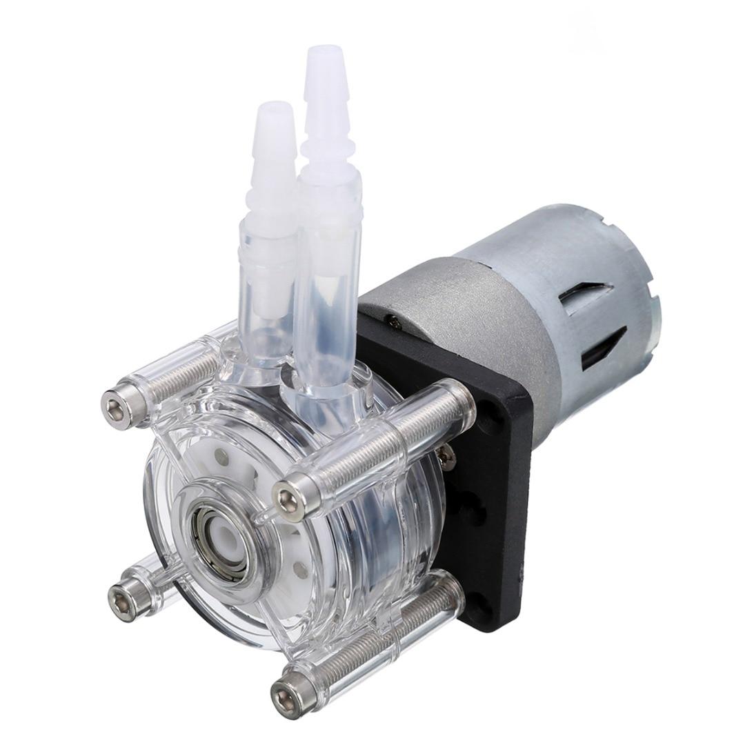 1pc Peristaltic Pump DC 12V/24V Large Flow Dosing Pump For Vacuum Aquarium Lab Analytical mini diy dosing pump peristaltic pump dosing head for aquarium lab analytical water pump with high flow l kamoer kds