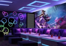 цена 3d Wallpaper Bar KTV Decorative Wallpaper 3d Cartoon Sexy Girl Modern Print Beautiful Wallpaper онлайн в 2017 году