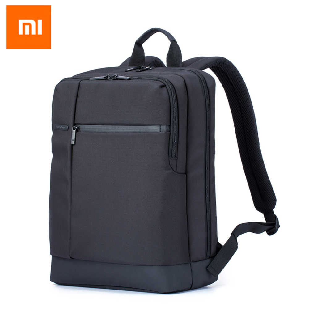 Xiaomi Business-Backpack Laptop 1260d-Bags Zippered Travel With 3-Pockets Large Compartments