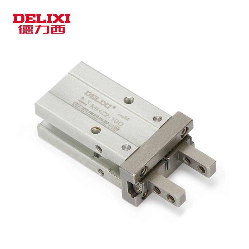 DELIXI MHZ2 MHF2 Parallel Style Air Gripper Cylinder MHZ2 6D 10D 16D 20D 25D 32D 40D HFZ10 HFZ16 HFZ20 HFZ25 HFZ32 HFZ40DELIXI MHZ2 MHF2 Parallel Style Air Gripper Cylinder MHZ2 6D 10D 16D 20D 25D 32D 40D HFZ10 HFZ16 HFZ20 HFZ25 HFZ32 HFZ40