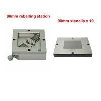 10pcs Universal 90mm Bga Stencils BGA Reballing Station Jig Fixture Holder Repair Rework Tools