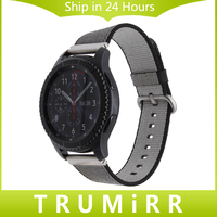 22mm Genuine Nylon Watch Band Quick Release Strap For Samsung Gear S3 Classic Frontier Fabric Belt