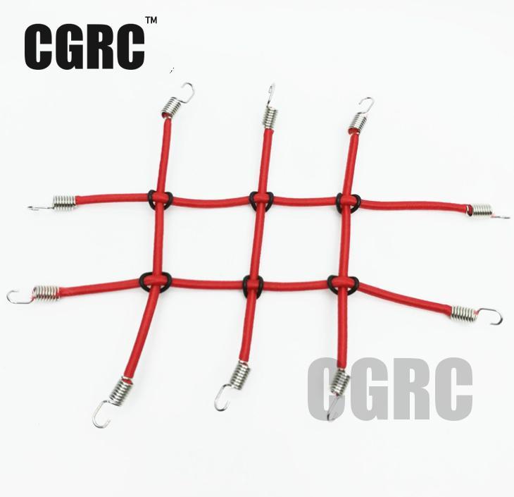 1:10 RC Rock Crawler Mini Elastic Luggage Net for Axial SCX10 90046 90047 Tamiya CC01 RC4WD D90 D110 RC Car Accessories tamiya tt 01 sc430