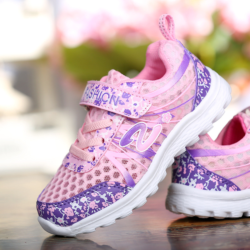 0c039bba69 Jungen mädchen sport shoes sommer rosa weiß atmungsaktive kinder sneakers  leichte casual mesh schuh chaussure enfant trainer in Jungen mädchen sport  shoes ...