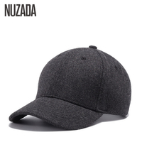 Brand NUZADA Autumn Winter Keep Warm Snapback Bone Men Women Baseball Caps Hip Hop Hats Cap