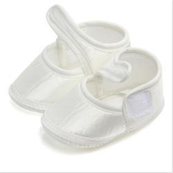Детские белые Обувь для малышей Bebes Весна-осень новорожденного милый хлопок принцесса Обувь Новинка 2017 года Лидер продаж Prewalker Мягкая обувь