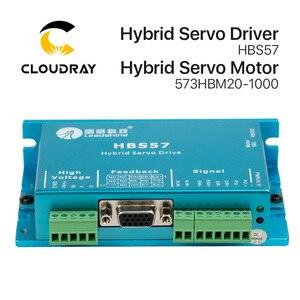 Image 2 - Cloudray Leadshine HBS57 + 573HBM20 1000 HBS507 nema23 3 fase híbrida Servo de ciclo cerrado