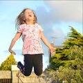 2017 Primavera verano niños BOBO CHOSES CONEJO PATRÓN de manga corta camisetas niños niñas ropa vetement enfant NIÑOS TOPS INS CALIENTE