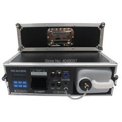 Новый 1500 Вт сценический туман дымка машина тумана машина с DMX контроль полета чехол посылка 3.5л дымовая машина сценический эффект освещения