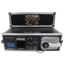 חדש 1500W שלב ערפל אובך מכונה ערפל מכונת עם DMX בקרת טיסה מקרה חבילה 3.5l מכונת עשן שלב תאורה אפקט