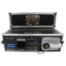 Nueva máquina de neblina de 1500W con caja de vuelo de Control DMX, máquina de humo de 3,5 l, efecto de iluminación de escenario
