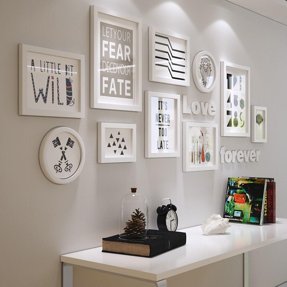 Massivholz Große Bilderrahmen Moderne Wohnzimmer Mode Malerei ...