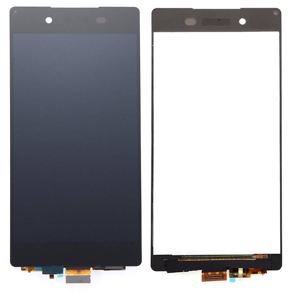 ФОТО For Sony Xperia Z4 Z3+ Z3 Plus Z4 E6553 E6533 white black Touch Screen Digitizer LCD Display Monitor Screen Assembly 100% Test
