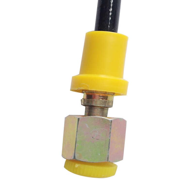 PCP Paintball manguera de estación de alta presión 300bar/4500psi M10 * 1 macho G1/8 hembra conexión 40cm de largo 1 lote = 2 uds