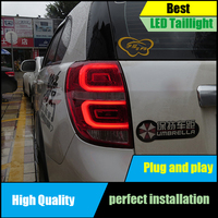 Car styling Taillight for Chevrolet Captiva Taillights 2008 2016 LED Tail Lamp LED Rear Lamp Driving+Brake+Park+Signal light