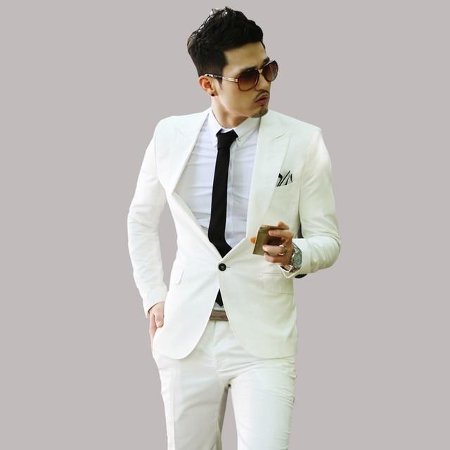 2015 New Business Casual Slim Fashion Male Suits Men Blazer Formal ...