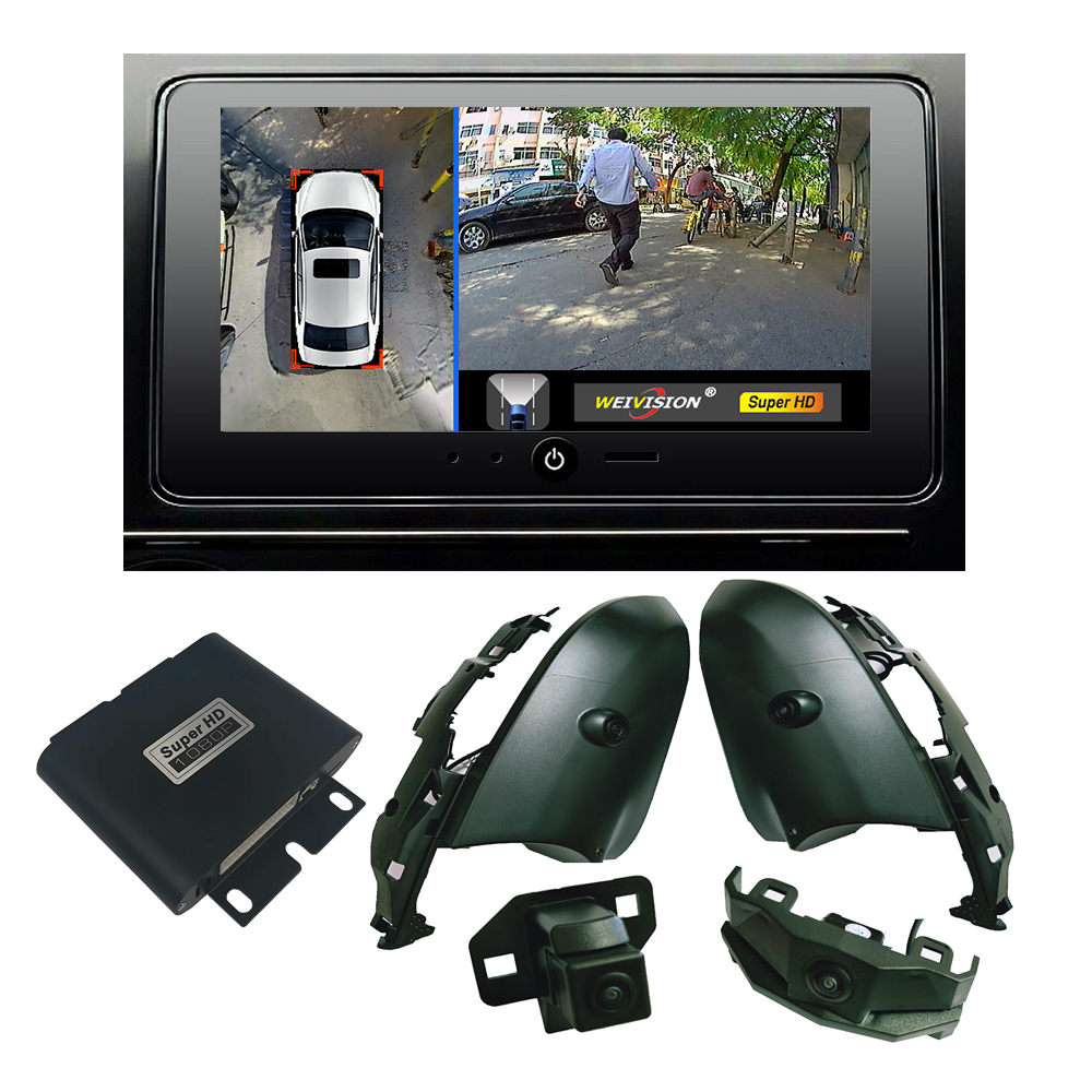 1080P HD 360 Bridview Car Monitor System Panoramic View