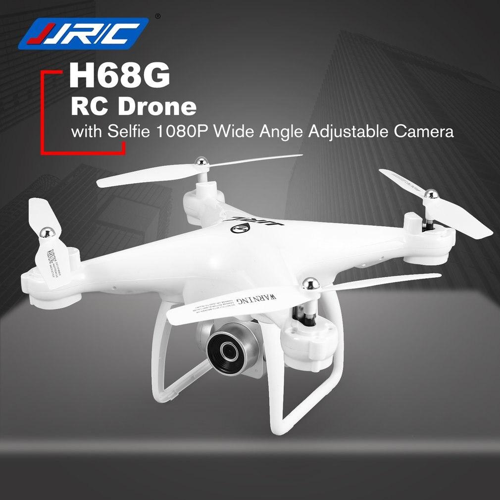 JJR/C H68G Selfie Double Positionnement GPS drone rc quadrirotor avec 1080 P Wifi FPV RÉGLABLE Large Angle Caméra Suivre me