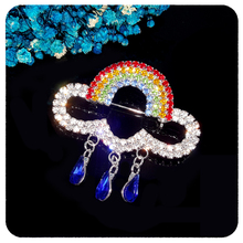GRANDBLING Fantastic Design of  BlingBling Rainbow Brooch Pin Wholesale Price Unique Jewelry&Gift