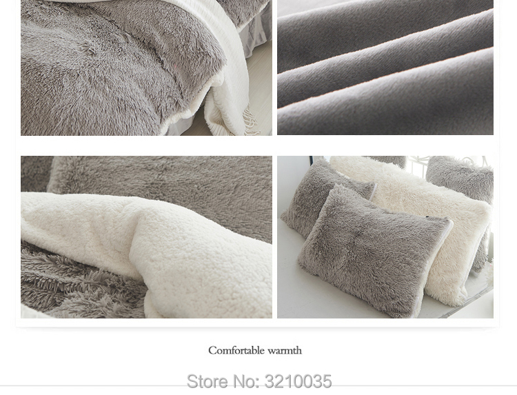 HTB1XYGreval9eJjSZFzq6yITVXa6 - Velvet Mink or Flannel 6 Piece Bed Set, For 5 Bed Sizes, Many Colors, Quality Material