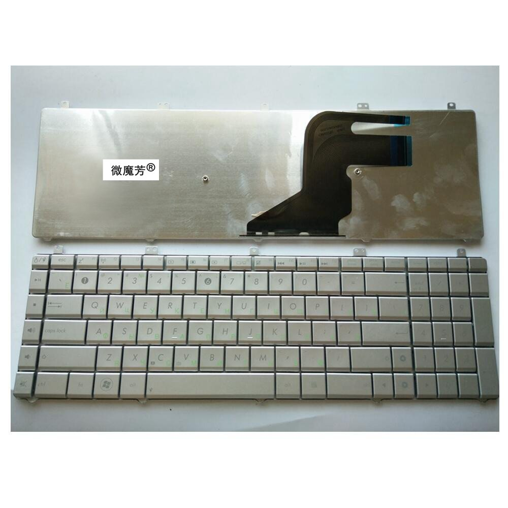 Russian New Keyboard FOR ASUS N55 N55S N55SL N55SF RU laptop keyboard цена