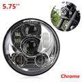 Hot Sale Accesorios Motos 5.75'' Round LED Headlamp Motorcycle Projector Headlight for Harley Davidson Sreet Bob Iron 883 L011