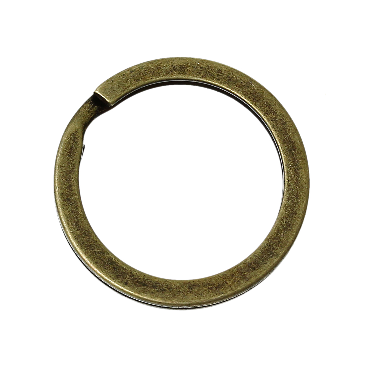 DoreenBeads Alloy Key Chains Key Rings Circle Ring Antique Bronze 20mm(6/8\