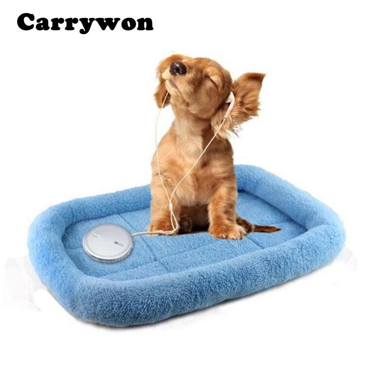 Carrywon Haustier Warme Schlafmatte Weiche Coralon Leder Hundebett Katze  Decke Haustiere Hunde Haus Komfortabel Kissen Schlaf