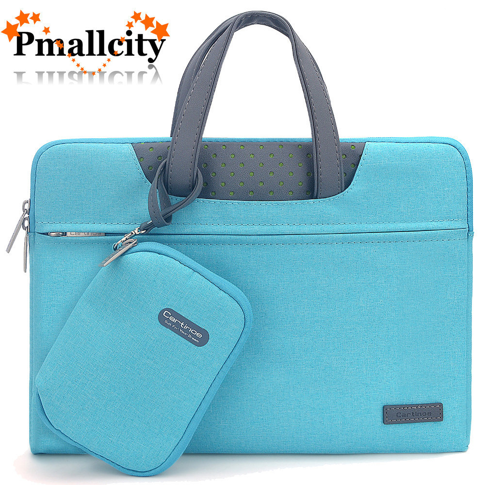 0ef599fb0f3c6 US $18.2 35% OFF|Waterproof Laptop Bag Case for MacBook Pro 13 15 Air Bag  for Xiaomi Notebook Air 13 Business Handbag Laptop Sleeve 11.6 14 15.6-in  ...