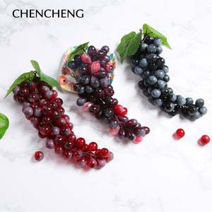 Image 3 - CHENCHENG ประดิษฐ์ผลไม้ 1 ชิ้นประดิษฐ์ DIY พลาสติกผลไม้ปลอมคริสต์มาสตกแต่งบ้านจำลองผลไม้