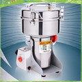 Бесплатная доставка 1000 г Электрический мукомольный станок  электрическая мукомольная мельница  коммерческая мукомольная мельница