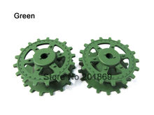 Henglong plastic sprockets/driving wheels for 1:16 1/16 rc tank 3869/79-1 German Jagdpanther/ Panther G tank plastic parts spare