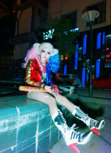 harley quinn costume New Batman DC Comics Suicide Squad font b cosplay b font jackets out
