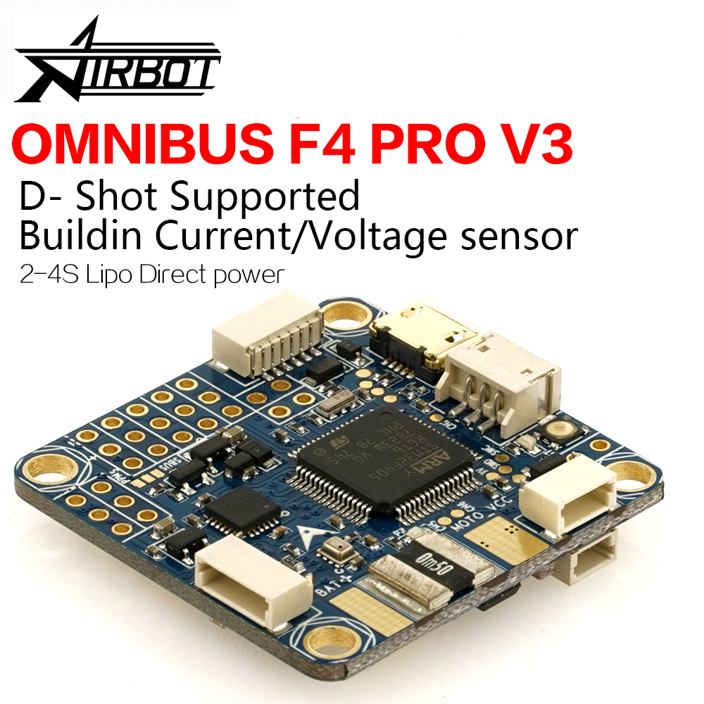 Omnibus F4 pro V3 control Airbot Authentic drones with rc plane for Camera contr