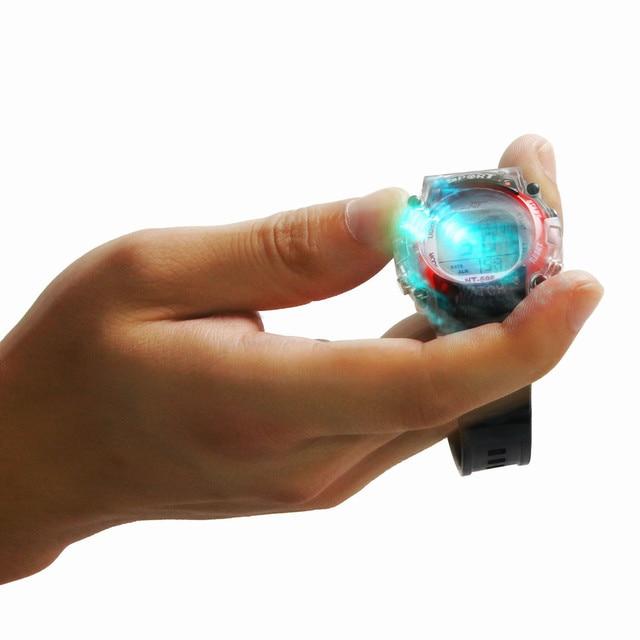 Irisshine children watches Clock brand luxury gift Colorful LED Electronic Sport